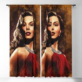 Ann Miller, Hollwood Legend Blackout Curtain