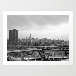 Urban Jungle - NYC Skyline Art Print