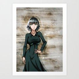 Fubuki 2 Art Print