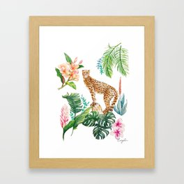 TROPICAL JUNGLE Framed Art Print