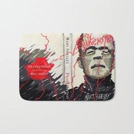 Frankenstein by Mary Shelley Version 2 Bath Mat