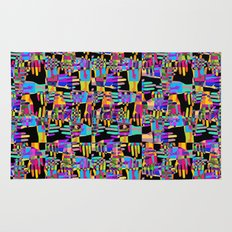 Colorful hands Rug