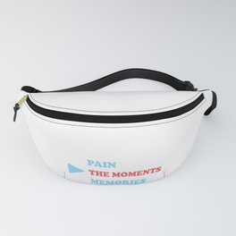 PAIN THE MOMENTS MEMORIES Fanny Pack