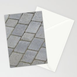 TEXTURES -- Pavingstone Pattern Stationery Cards