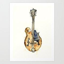 The Mandolin Art Print