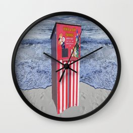 The Death of Tradition Wall Clock