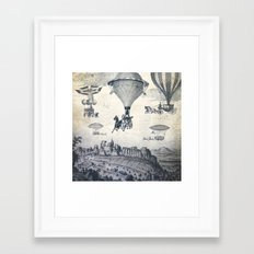 Carrilloons over the City Framed Art Print