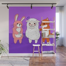 Lambie's Body Suit Problem Wall Mural