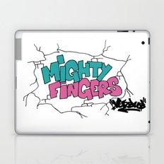 mighty fingers Laptop & iPad Skin
