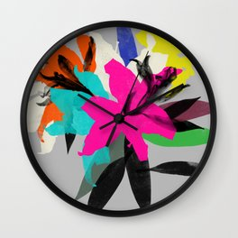 lily 12 Wall Clock