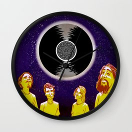 """Superunknown"" by Dmitri Jackson Wall Clock"