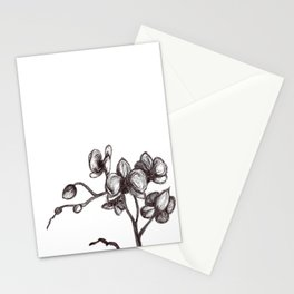 Orchid-Love -alone Stationery Cards