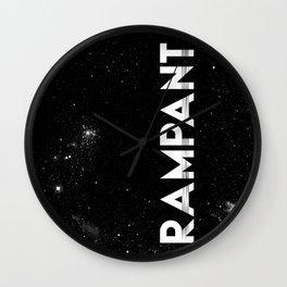 Rampant Space Wall Clock