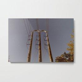Power Tower Metal Print