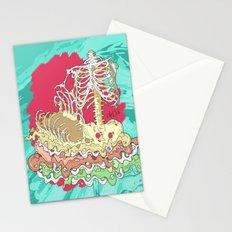 Flesh illustration Stationery Cards