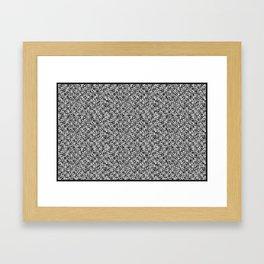 grid_1 Framed Art Print