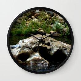 Center Rock Wall Clock