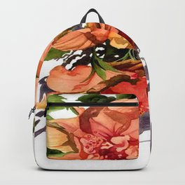 Melancholy Hibiscus Backpack