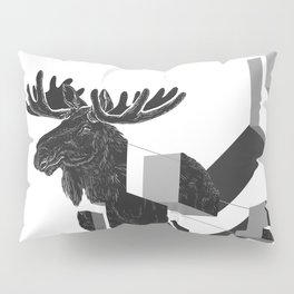 moose_deconstructed Pillow Sham