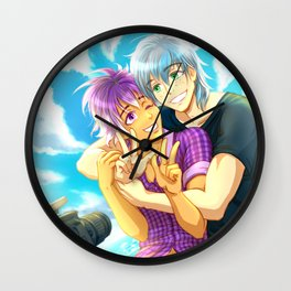 Summer Shot Wall Clock