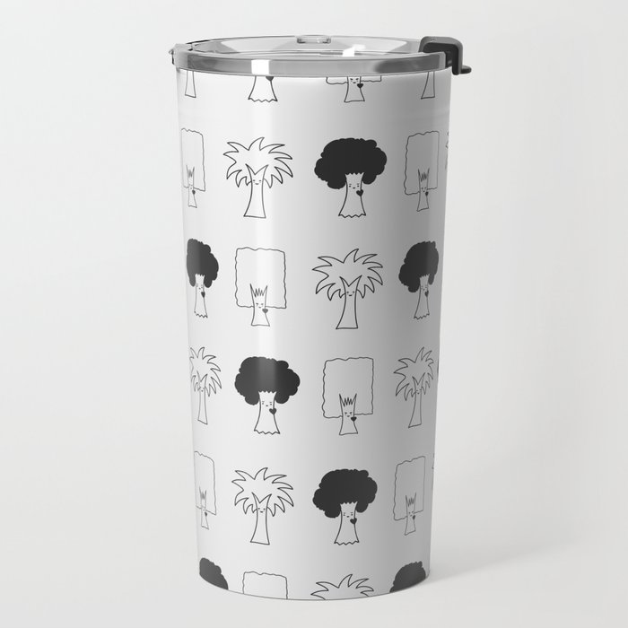 Happy Trees Travel Mug