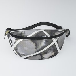 Liquid geometry Fanny Pack