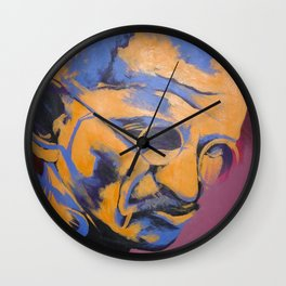 Gandhi Wall Clock