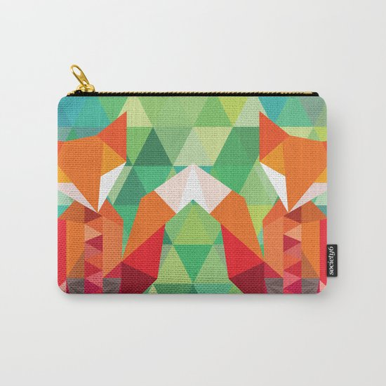 Fox in the woods Carry-All Pouch
