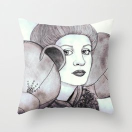 Bolaño by Caleis  Throw Pillow
