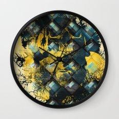 Abstract Thinking Remix Wall Clock