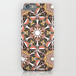Arabesque doodle iPhone Case