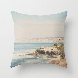 La Jolla photograph Throw Pillow