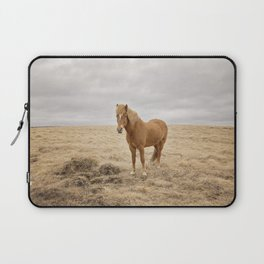 Solitary Horse in Color Laptop Sleeve