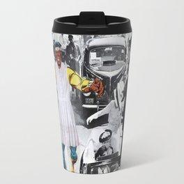 Inauguration Run - Vintage Collage Travel Mug