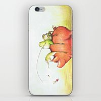 onward iPhone & iPod Skins featuring Onward! by Pish Posh!