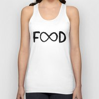 food Tank Tops featuring FOOD by Sara Eshak