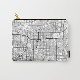 Orlando Map White Carry-All Pouch