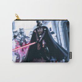 Darth Vader Sith Lord Illustration Film Movie Pop art Home Decor Geeky Nerdy Art Carry-All Pouch