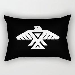 Thunderbird flag - HQ file Inverse version Rectangular Pillow
