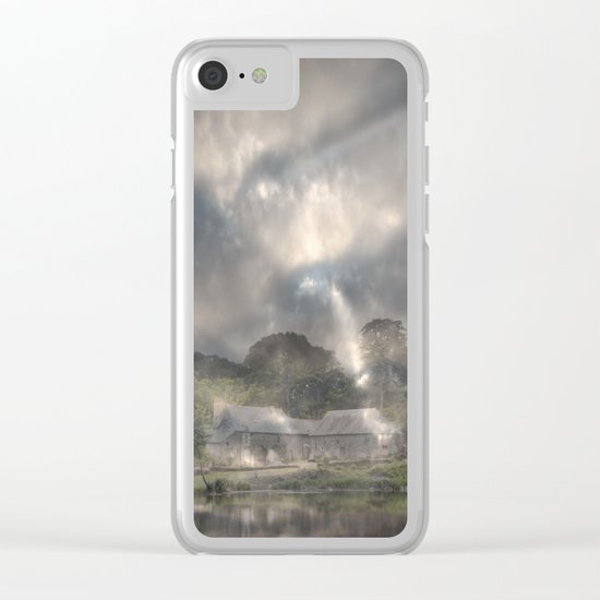 She Emerged From the Gloom Clear iPhone Case