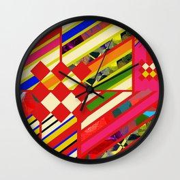 POP COLOR Wall Clock