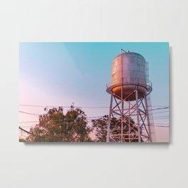 Philippines Water Tank Metal Print