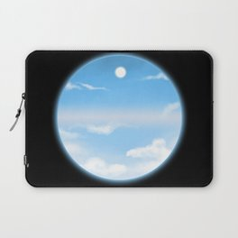 World Within Me - Blue Laptop Sleeve
