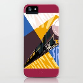 Travel South for Winter Sunshine iPhone Case