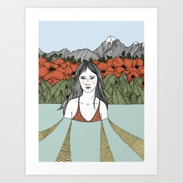 In the Thick of it All Art Print