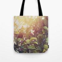Lemon Flowers Tote Bag