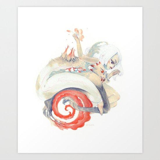 Epicotyl Art Print