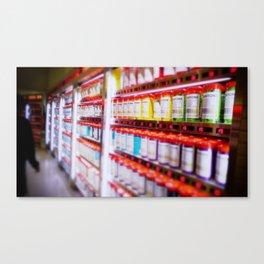 Pantone Pods Canvas Print