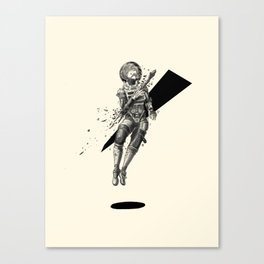 No Voice in Void - Percée Canvas Print