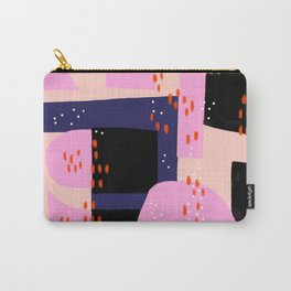 Memphis Inspired 80s Abstract Carry-All Pouch